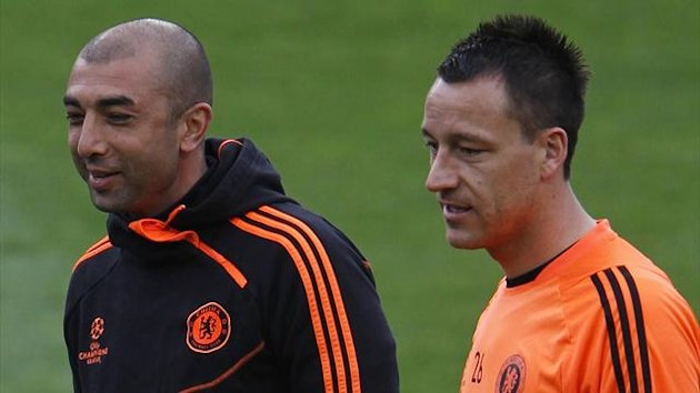 Roberto Di Matteo and John Terry (Reuters)