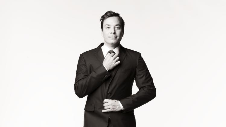"Outstanding Variety, Music, or Comedy Series: ""Late Night with Jimmy Fallon""     WITH JIMMY FALLON -- Season: 2 -- Pictured: Jimmy Fallon -- Photo by: Andrew Eccles/NBC"