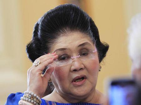 Imelda Marcos disappointed her son only aiming for Philippine VP