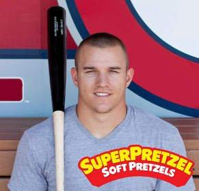 SUPERPRETZEL Teams Up With THE SUPERNATURAL, Mike Trout