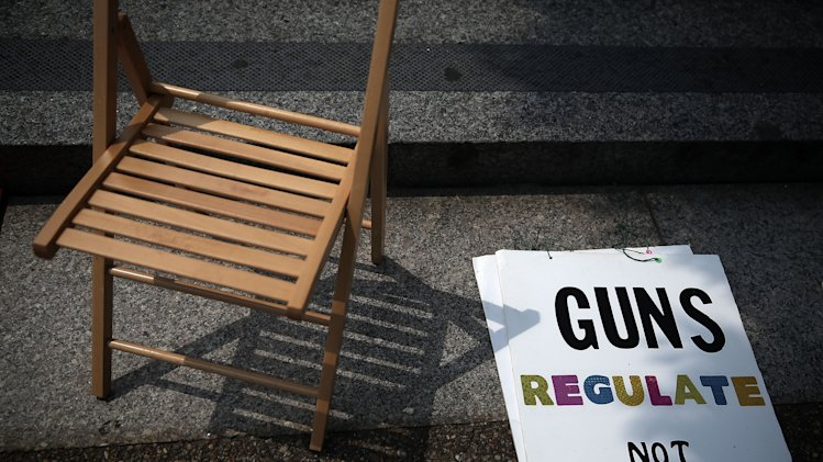 Gun Control Activists Demonstrate In Washington