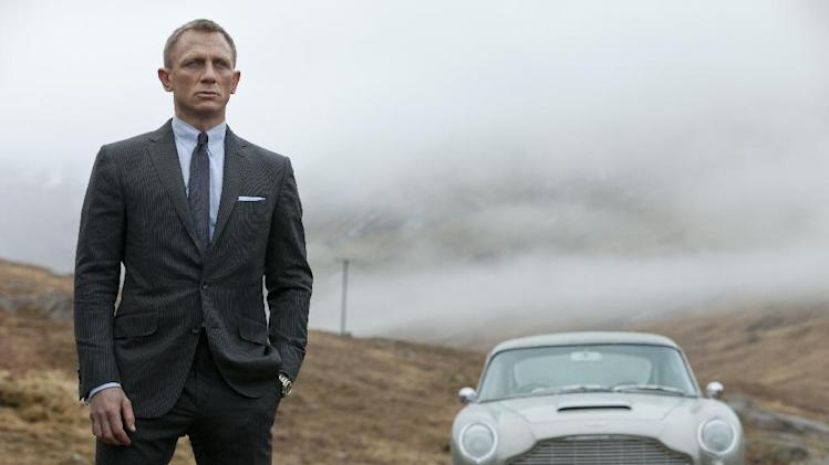 "This film image released by Sony Pictures shows Daniel Craig as James Bond in  ""Skyfall."" Celebrating his 50th birthday, James Bond has been learning some new tricks _ but 3-D isn't one of them. Producers of the spy franchise say they have no interest in a making a Bond film in 3-D. The upcoming ""Skyfall"" is the first Bond film to be released since ""Avatar"" made 3-D a common and often lucrative practice for blockbusters.  (AP Photo/Sony Pictures, Francois Duhamel)"