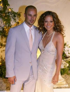 Jennifer and Cris Judd at the Grand Opening of Madres Restaurant in March 2002