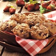Sensasi Rasa Muffin Almond Berry