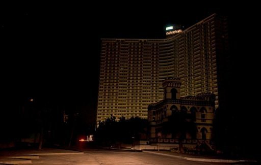 &lt;p&gt;Buildings in Havana sit in darkness during a blackout. Power was restored after a massive outage caused by a malfunction in a high voltage power line cast much of the country into darkness for hours.&lt;/p&gt;