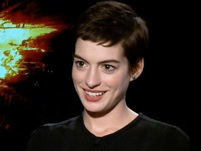 Hathaway on 'Dark Knight' and 'Les Miserables'