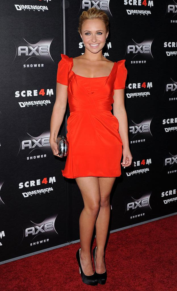 Scream 4 LA Premiere 2011 Hayden Panettiere