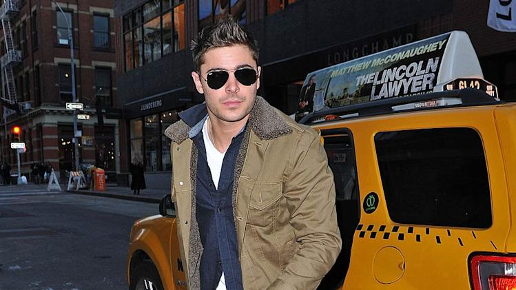 Zac Efron Out InNY