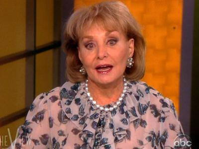 Barbara Walters Mum on Retirement Reports