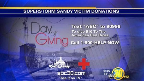 Superstorm Sandy: Day of Giving