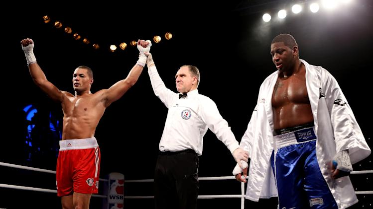 British Lionhearts v USA Knockouts - World Series of Boxing