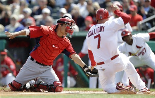Wainwright struggles Cards' 6-2 loss to Nats