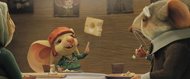 The Tale of Despereaux Production Stills 2008 Universal Pictures