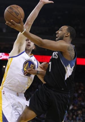 Warriors top Wolves 105-89 to clinch playoff spot