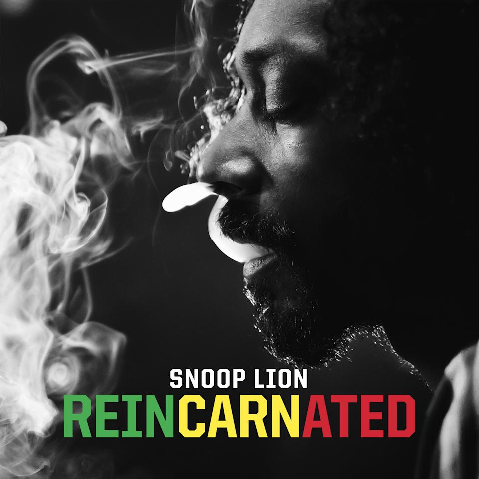 "This CD cover image released by RCA/RED shows ""Reincarnated,"" by Snoop Lion, formerly Snoop Dogg. (AP Photo/RCA/RED)"