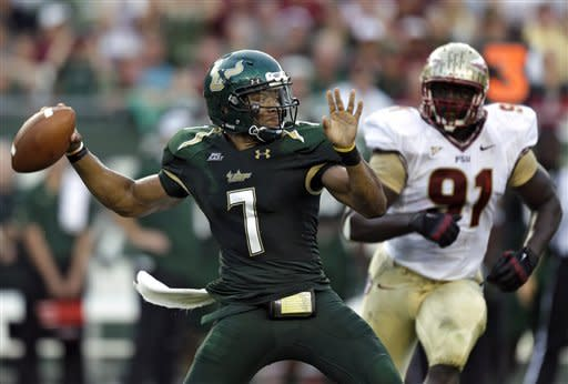 No. 4 FSU survives road test against USF, 30-17