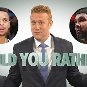 Would you rather? Tim Duncan or Steph Curry's skillset