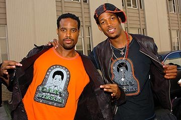 Shawn Wayans and Marlon Wayans MTV Movie Awards - 6/5/2004
