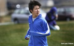 Stansbury exchange student and soccer star Reo Fujimaki