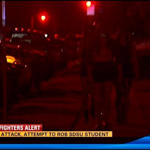 3 men attack, attempt to rob SDSU student