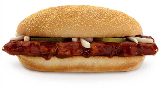 McDonald's McRib Back for Christmas (ABC News)