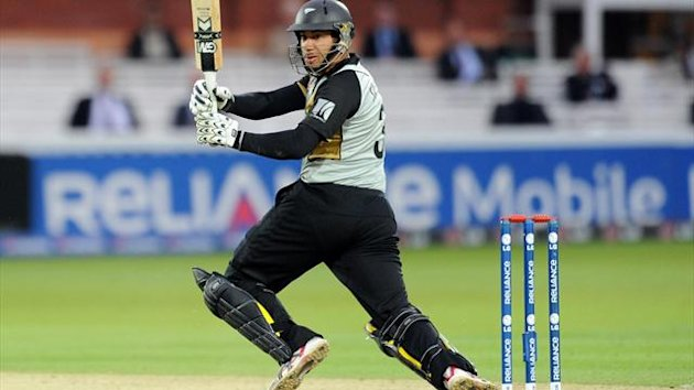 Ross Taylor, pictured, was replaced by Brendon McCullum as New Zealand captain