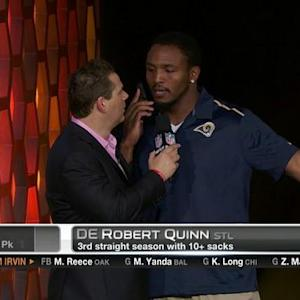 Pro Bowl Draft: St. Louis Rams defensive end Quinn goes No. 20