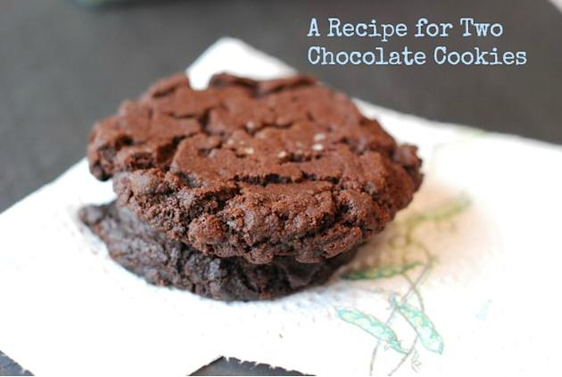 A Recipe for Two Chocolate Cookies