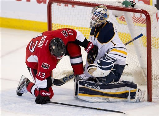 Anderson and Senators beat Sabres 4-3
