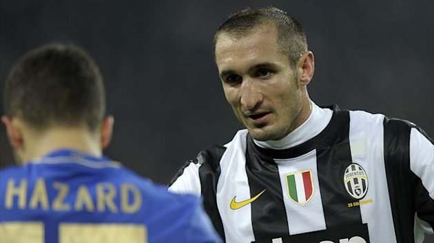 2012 Giorgio Chiellini Juventus