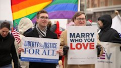 GTY gay marriage virginia jt 140420 16x9 608 Americans Ideology and Age Drive Gay Marriage Views