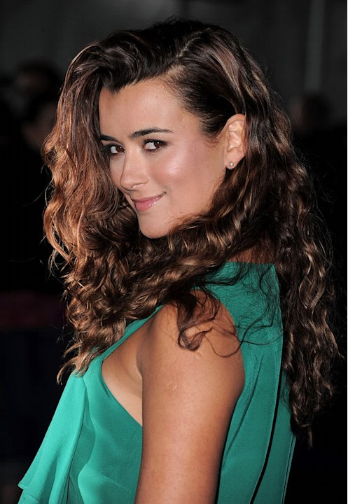 "Cote de Pablo of ""NCIS"" arrives at the CBS Fall Season Premiere party at The Colony on September 16, 2010, in Los Angeles."