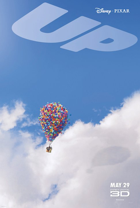 Up Poster Production Stills Pixar Walt Disney 2008