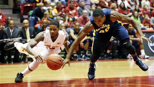 McGee leads Iowa St past North Carolina A&T 86-57