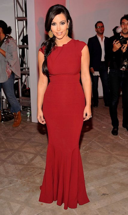 Event honoree, Kim Kardashian attends the 2011 Game Changers Awards at Skylight SOHO on October 18, 2011 in New York City. 