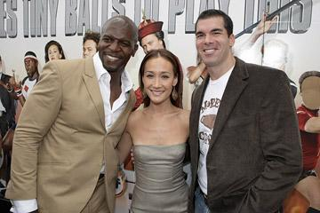 Terry Crews , Maggie Q and Brandon Molale at the Los Angeles premiere of Rogue Pictures' Balls of Fury