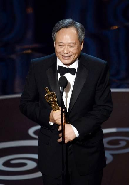Ang Lee accepts the Best Director award for 'Life of Pi' onstage during the Oscars held at the Dolby Theatre in Hollywood on February 24, 2013 -- Getty Images