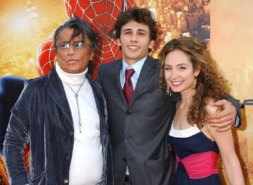 Robert Evans , James Franco and Robin Cohen at the Los Angeles premiere of Columbia Pictures' Spider-Man 2