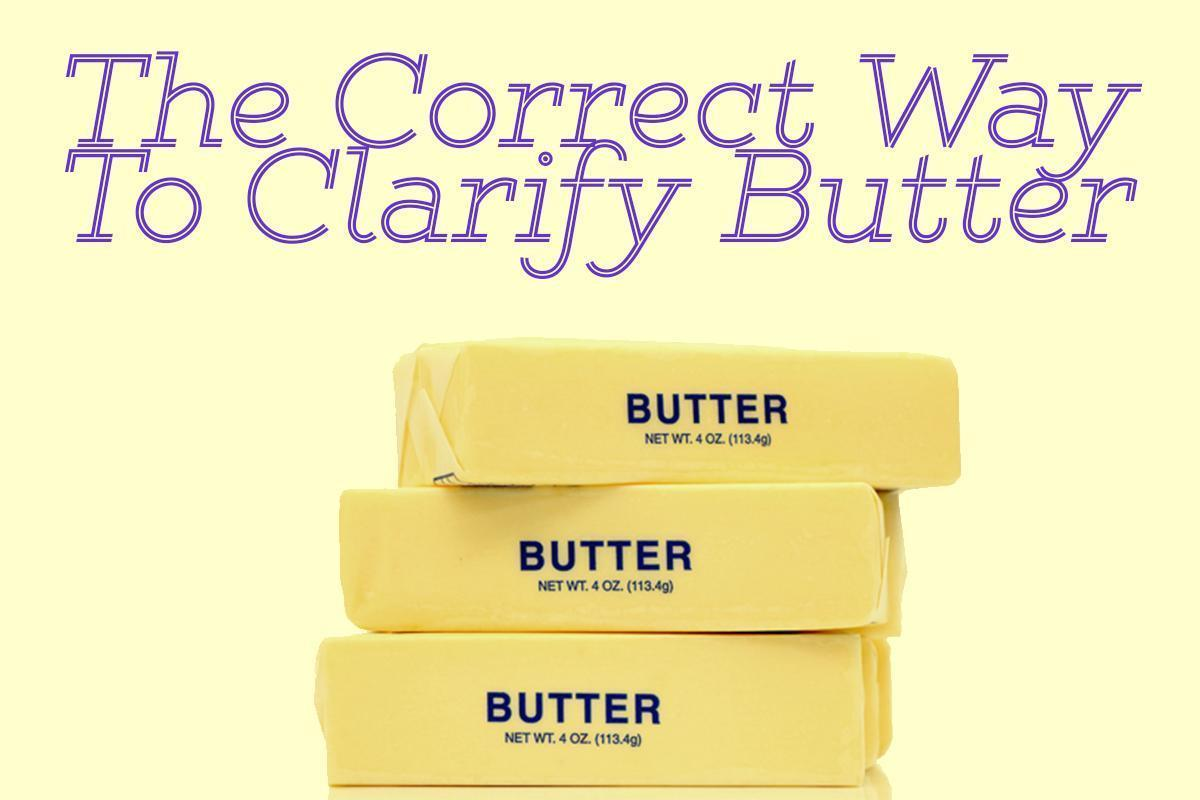 Home Chefs, Here's the Correct Way to Clarify Butter