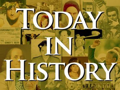 Today in History for Tuesday, February 3rd