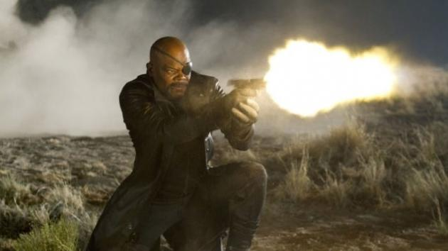 Samuel L. Jackson in 'The Avengers' -- Marvel