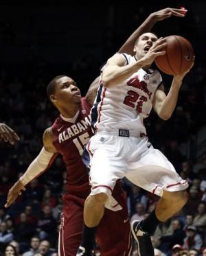 Mississippi beats Alabama 87-83