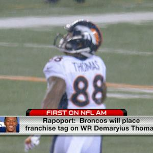 Broncos will franchise tag Demaryius Thomas