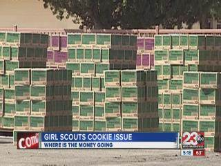 Girl Scout Cookie debate over money distribution