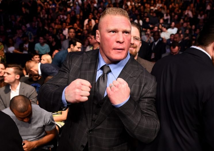 WWE And UFC Teamed Up For A Brock Lesnar Vs