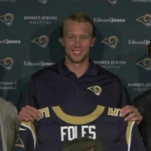 Is Nick Foles the long-term answer at QB for St. Louis Rams?