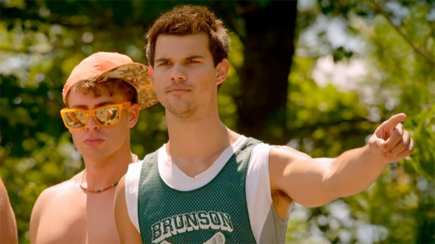 Taylor Lautner, mean guy in 'Grown Ups 2'