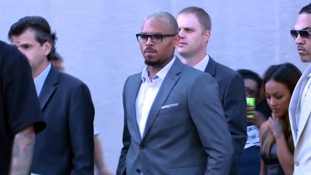 Chris Brown pleads guilty to assault in D.C.