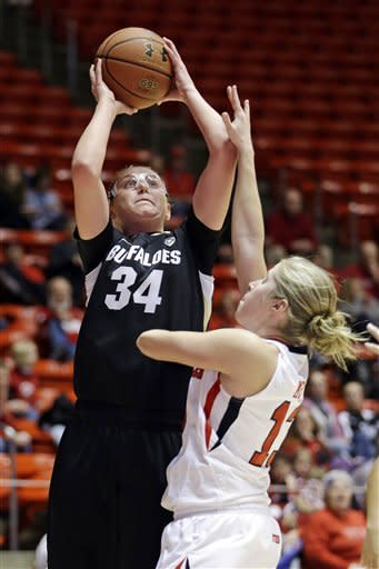 No. 23 Colorado women defeat Utah 56-43