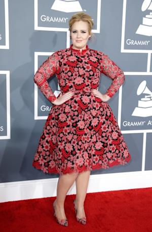 Adele attends the 55th Annual GRAMMY Awards at STAPLES Center on February 10, 2013 in Los Angeles -- Getty Premium
